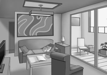 Perspective - Apartment Room by Edowaado
