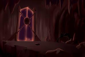 Gates of hell by Edowaado