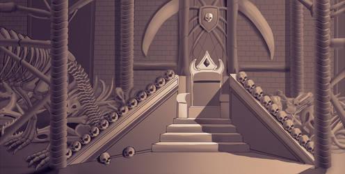 Interior Design - Throne Room by Edowaado