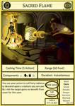 DnD Cantrip - Sacred Flame