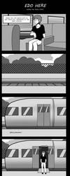 Edo Here - Where the Train Ends - by Edowaado