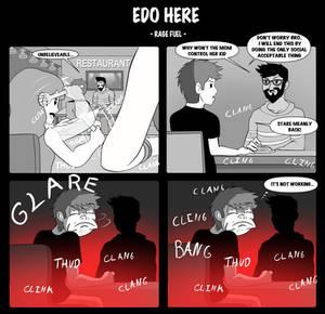 Edo Here - Rage Fuel -