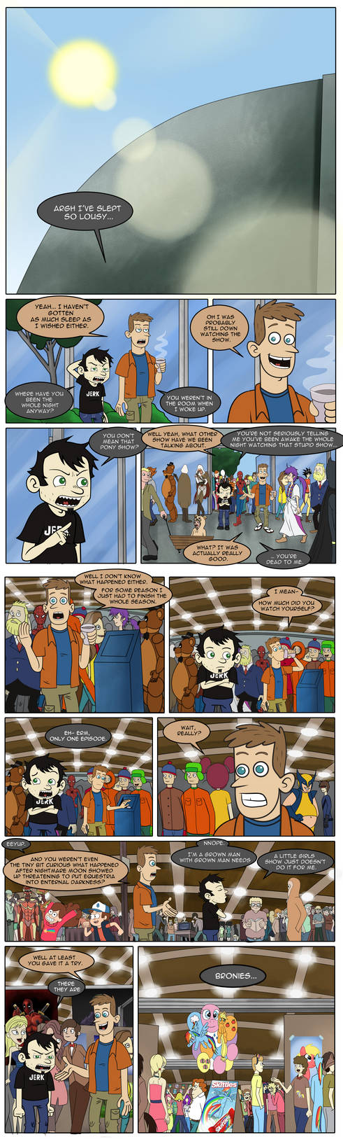 Dan vs Bronies Ch 2 - Assimilation Pt 1