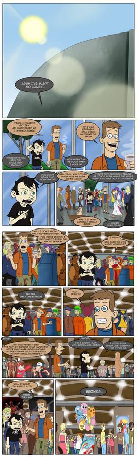 Dan vs Bronies Ch 2 - Assimilation Pt 1