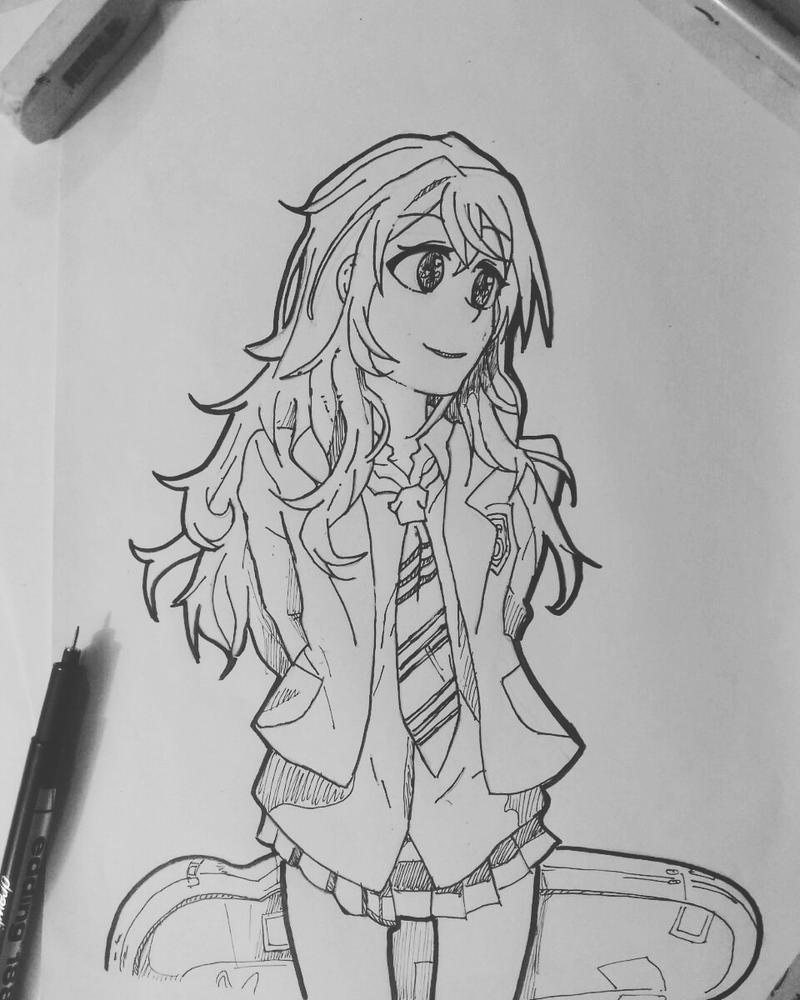 Shigatsu Wa Kimi No Uso|| Kaori Miyazono drawing by bryanyez