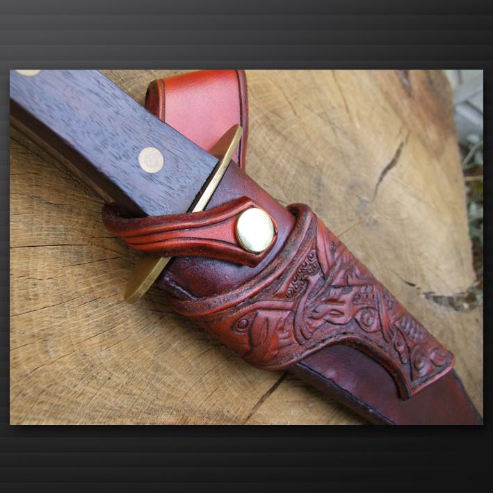 Knife sheath close up by tim23 on deviantart