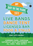 Day In The Park 2013 Poster