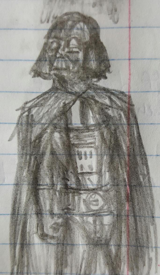 Darth Vader doodle by TheRavensBastard39