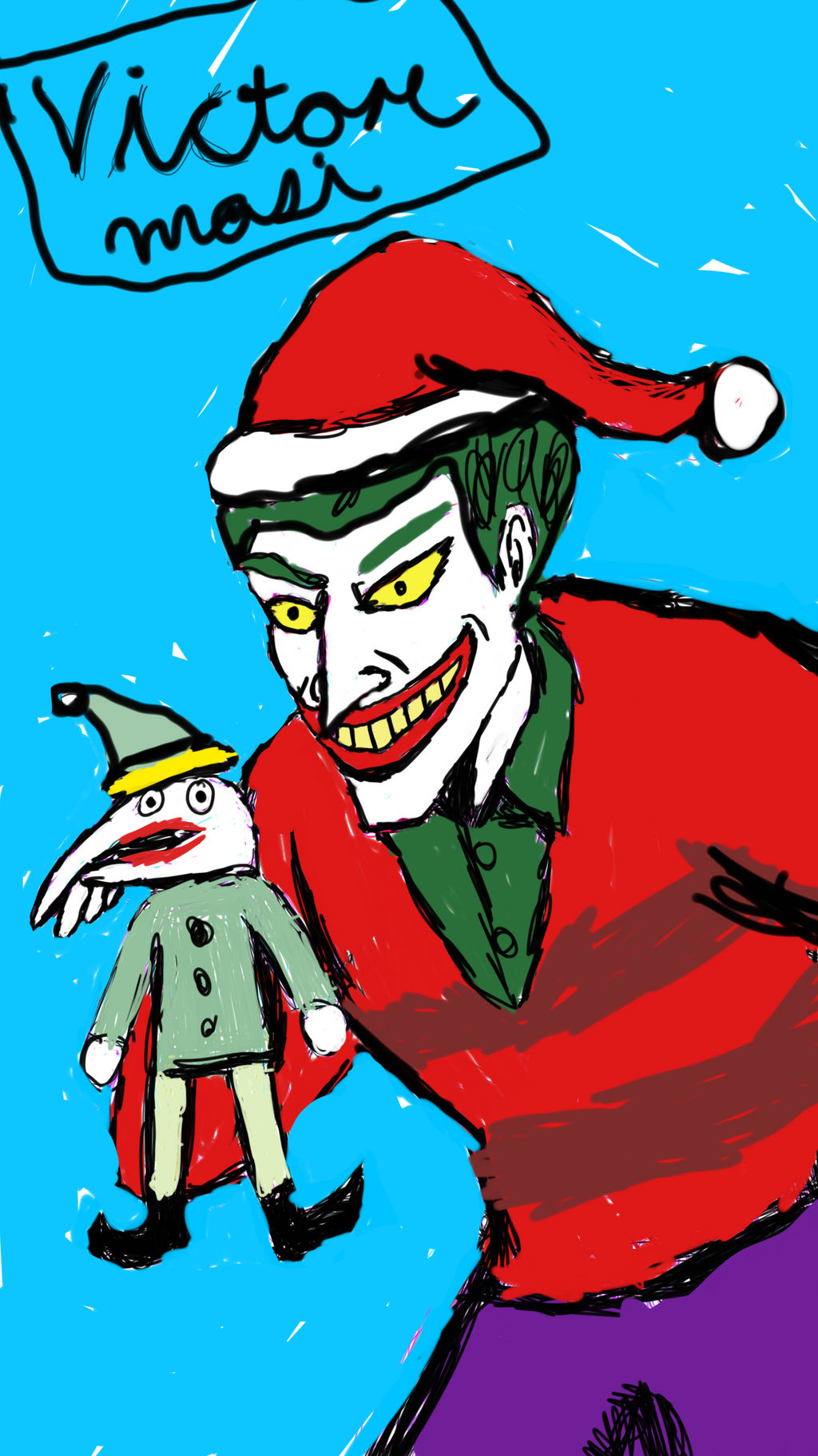 Christmas With The Joker.Christmas With The Joker By Theravensbastard39 On Deviantart
