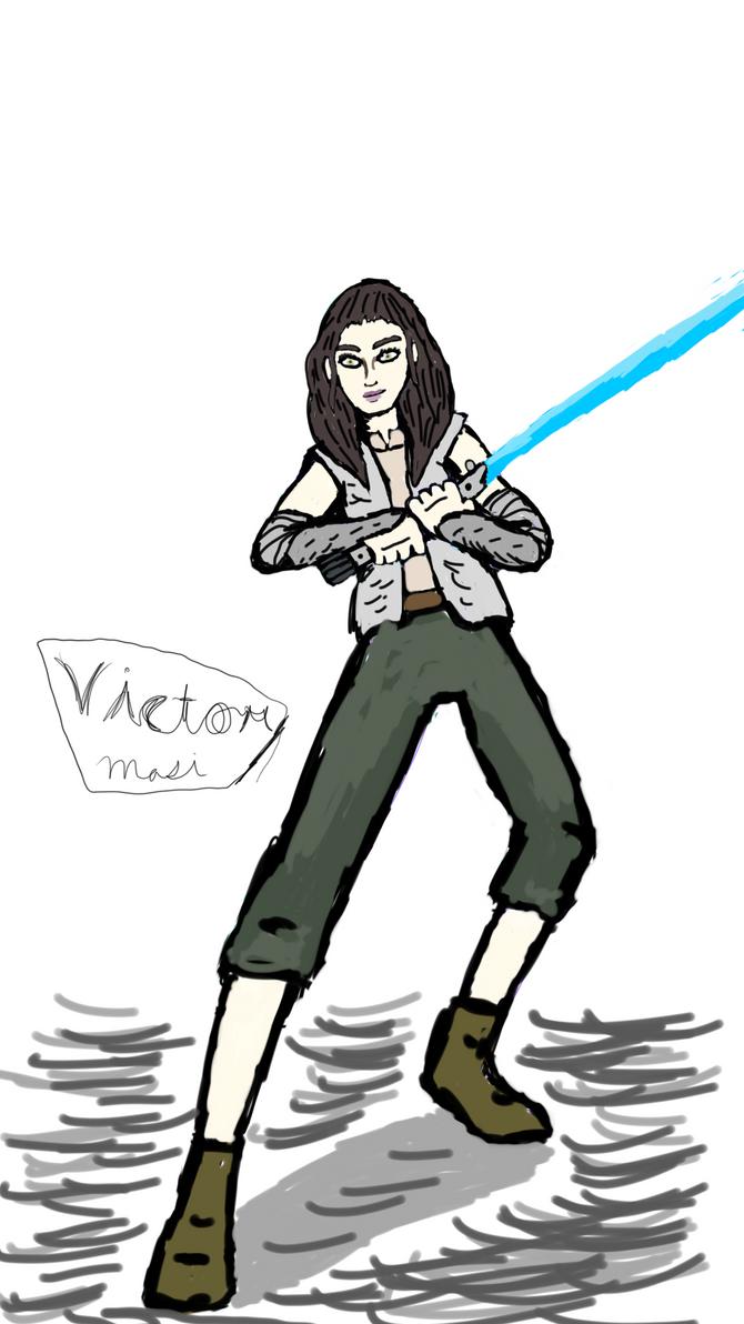 Rey Skywalker by TheRavensBastard39