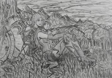 FebRWBY Day 14: Jaune and Pyrrha