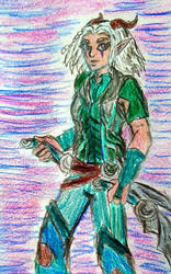 Rayla rough portrait by TheRavensBastard39
