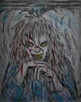 Possessed Regan fanart rough doodle sketch
