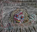 Deadite Cheryl fanart rough doodle sketch
