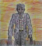 Logan rough doodle sketch