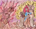 Terror of the Devil Tick by TheRavensBastard39