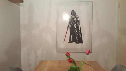 Darth Vader as decoration by daniart-de