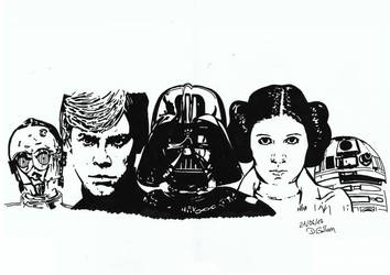 Star Wars - Might the force be with you! by daniart-de