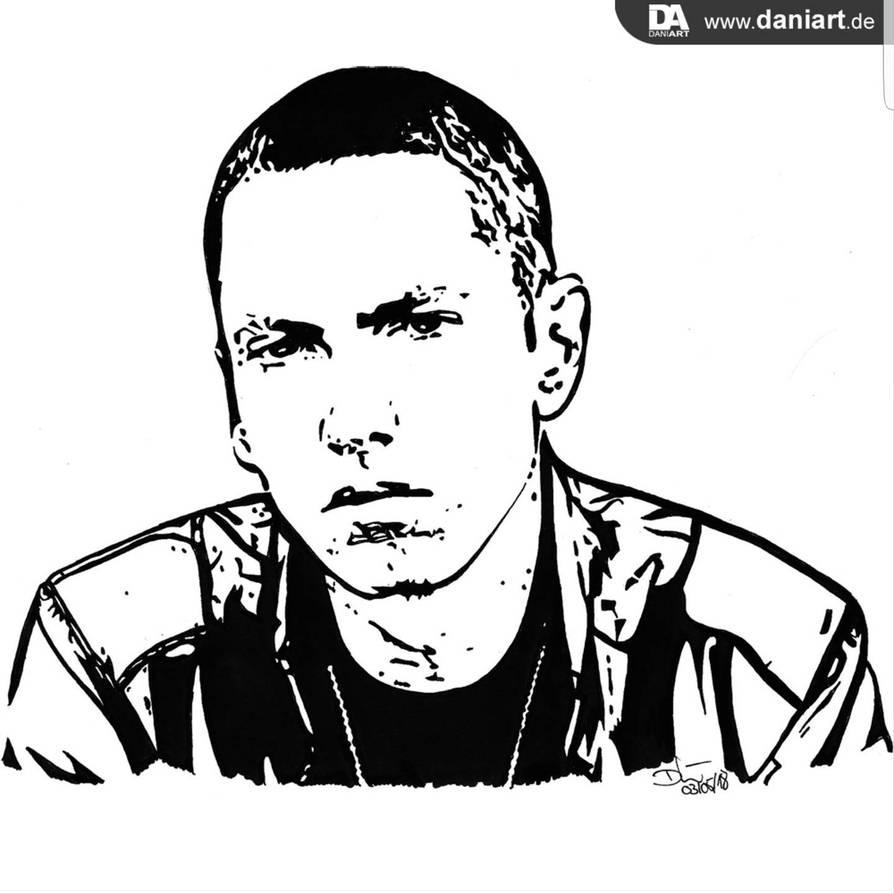 Eminem aka SlimShady by daniart-de