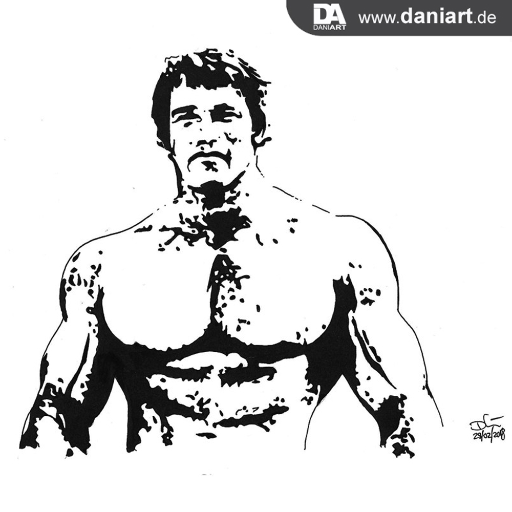 Arnold Schwarzenegger by daniart-de