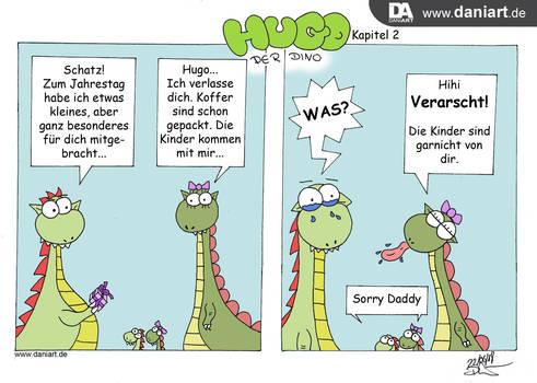 Hugo der Dino und seine Probleme - Kapitel 2