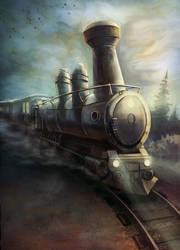 Ghost Train by ThanosTsilis