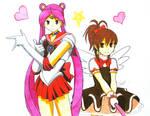 Sailor Athena and Cardcaptor Momoko