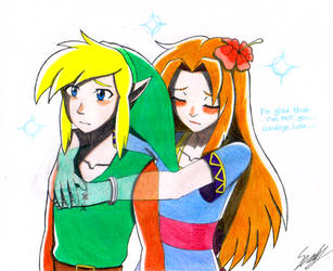 What I think of the ending of Link's Awakening by sendy1992