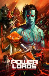 Power Lords Fanclub Poster by natebaertsch
