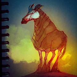 Olivier the Odd Okapi by natebaertsch