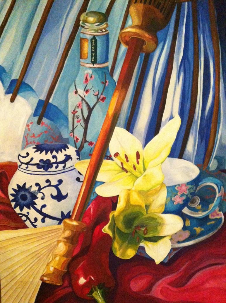 Japanese Tea by lietomelapin