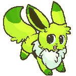 Lime the Eevee by AppleDew