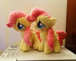 Shy Little Twins :Fluttershy Plushies:
