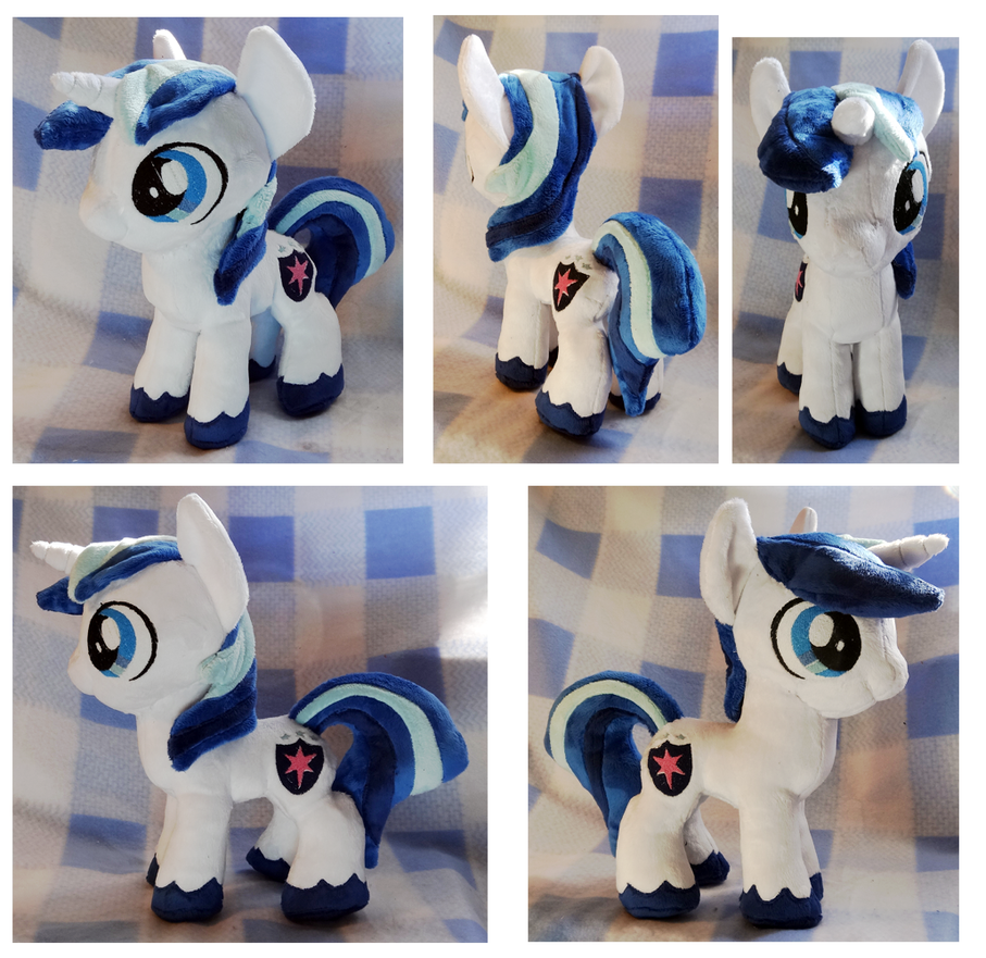 Colt Shining Armor Plushie :Commission: by AppleDew