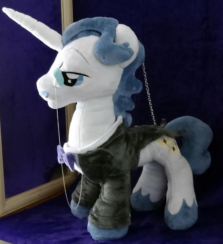 Fancy Pants :Plushie Commission: by AppleDew