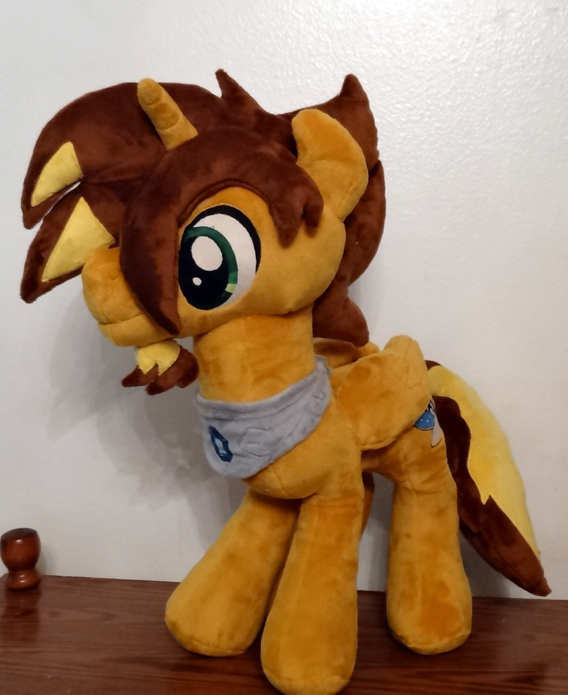 Brightmind :OC Commission Plush: by AppleDew
