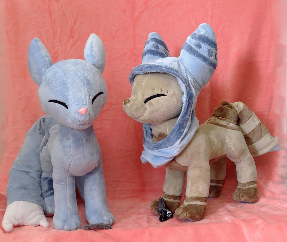 Pillowings! :OC Plush Commission: by AppleDew