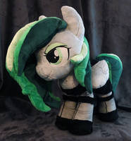Little Lady : OC Pony Plush Commission: by AppleDew