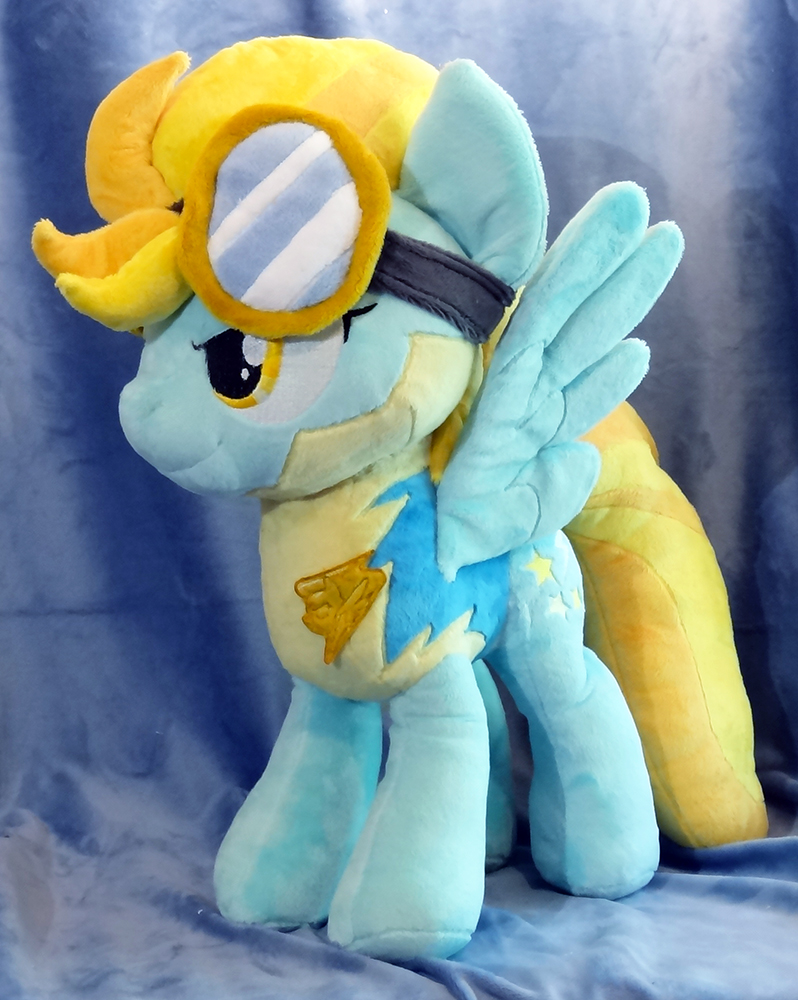 Lightning Dust Plushie :Commission: by AppleDew