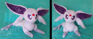 Life-sized Espeon Plushie :Commission: