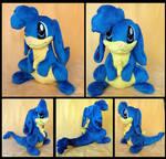 Blue Zafara Plush :Commission: