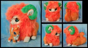 Little Orange Yimin Plushie :Commission:
