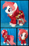 Rosa the Pirate Plushie :Commission: