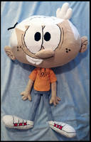 Lincoln Loud Plush :Commission: by AppleDew