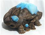 Life-sized Crystal Lizard Plush