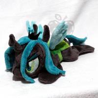 Queen Chrysalis ''Lazy Pony'' Beanie by AppleDew
