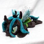 Queen Chrysalis ''Lazy Pony'' Beanie