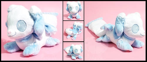 Chibi Pillowing Plushie by AppleDew