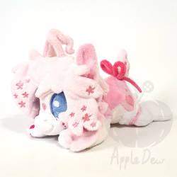 OC Wakusei Rabbit ''lazy Pony'' Beanie Plush
