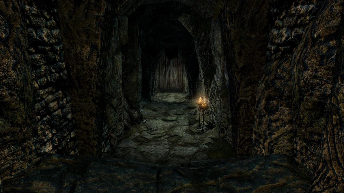 Skyrim dungeon door by Summontheminions ... & Skyrim dungeon door by Summontheminions on DeviantArt